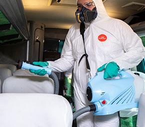 Desinfecção de ambientes públicos e residenciais é fundamental para evitar a disseminação do coronavírus